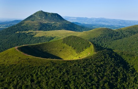 O Puy de Dome, inesquecível cenario do Rendez vous en France 2014