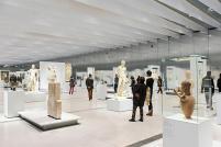 A Galeria do tempo do Louvre de Lens