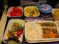 Bandeja da Qatar Airways