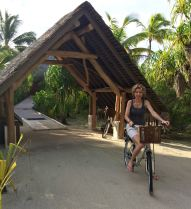 Bicicleta no resort