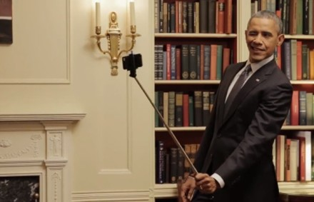 OBAMA NO SELFIE