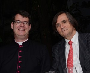 Monsenhor d'Arodes e Jean Philippe Pérol Foto Panrotas