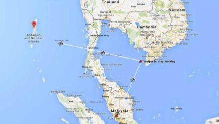 VÔO DA MALAYSIA AIRLINES