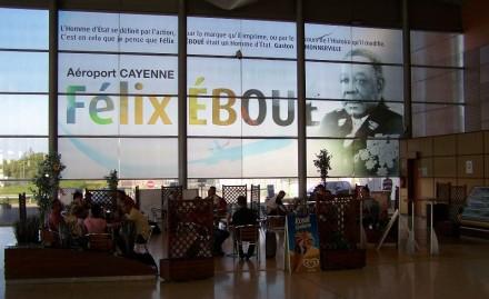 Aeroporto Felix Eboué em Caiena
