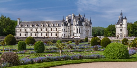 Chenonceau, os jardins