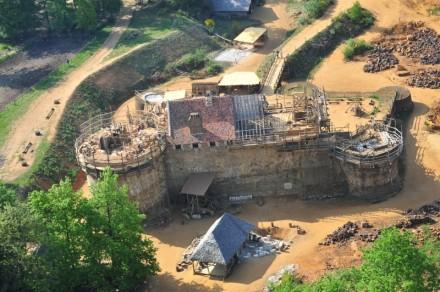 O castelo de Guedelon