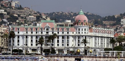 O HOTEL NEGRESCO E A %22BAIE DES ANGES%22