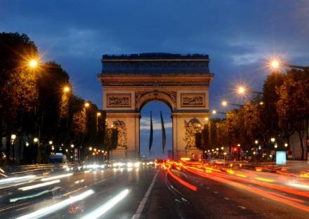 Paris, os Campos Eliseos