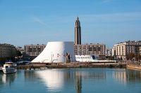 O vulcão de Niemeyer em Le Havre