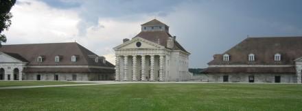 A casa do diretor das salinas reais de Arc et Senans