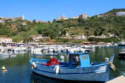 O porto de Cargese