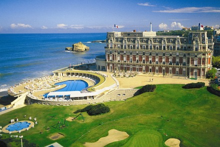 Biarritz-and-Hotel-Du-Palais