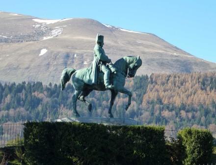 Estátua do Napoleão na Route Napoléon