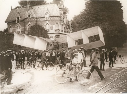 O primeiro voo do Numero 14 bis, 13 de Setembro 1906