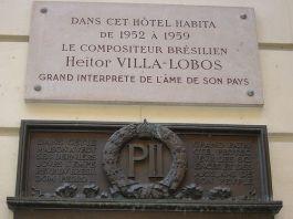 Villa Lobos em Paris