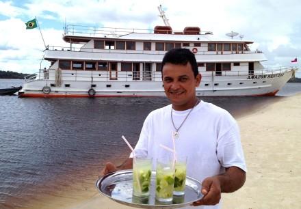 Turismo domestico no Rio Negro