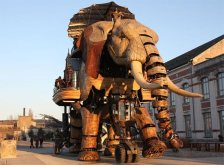 O elefante do %22Voyage à Nantes%22