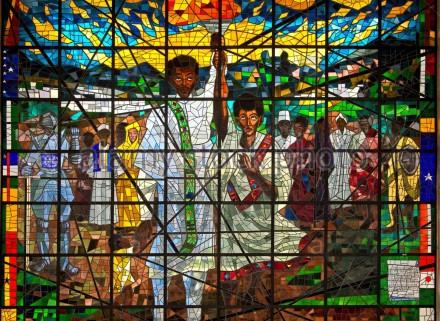 Os vitrais do Afewerk Teklé