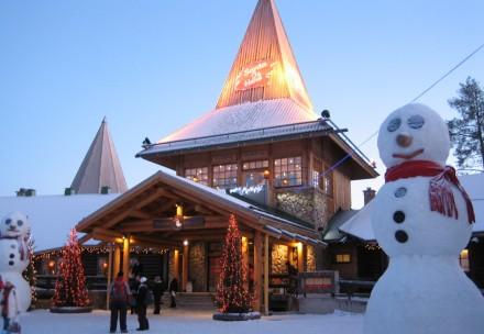 A cidade do Papai Noel
