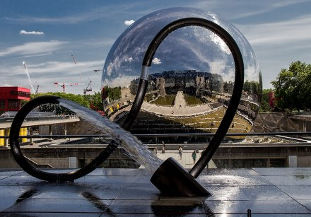 A Geode da Cité des Sciences em Paris