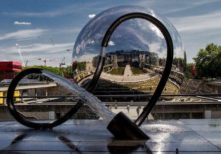 A Geode da Cité des Sciences em Paris