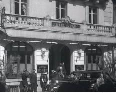 O Hotel du Parc durante a guerra