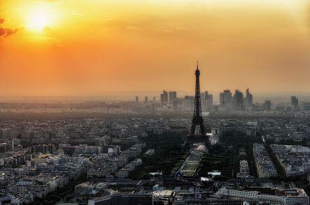 Paris visto do topo da Torre Montparnasse