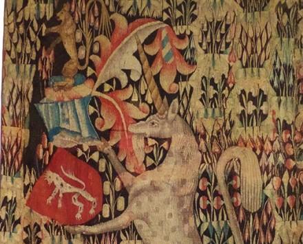 Mas antiga tapeçaria de Aubusson