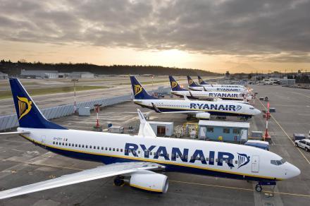 Aviões da Ryan Air