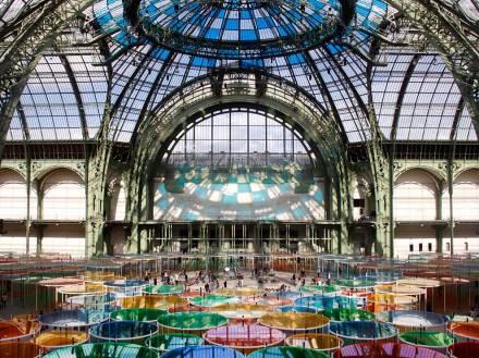 O Grand Palais, desde Napoleon III, recebendo feiras e exposições de Paris
