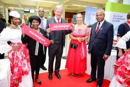 Voo inaugural da Norwegian na Martinica