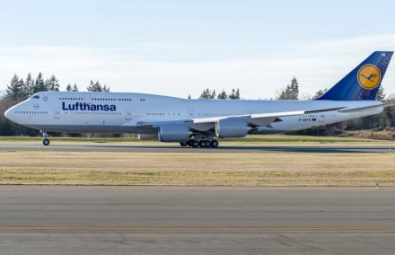 "O Being 747-8 ""Queen of the Skies"" da Lufthansa"