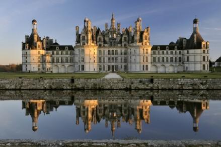 O Castelo de Chambord, um dos 30 monumentos com segurança reforçada