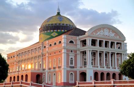 O Teatro Amazonas