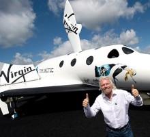 Richard Branson e o seu Galactic