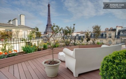 Oferta Airbnb em Paris