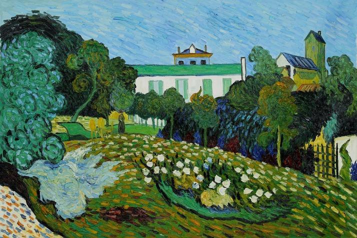 O Jardim de Daubigny, do Vincent Van Gogh