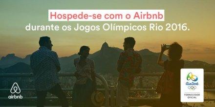 Oferta da Airbnb para os Jogos Olimpicos