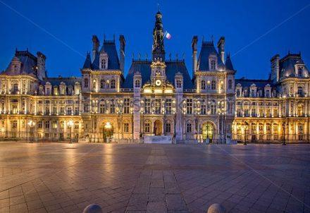 A prefeitura de Paris