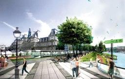O futuro bondinho olímpico de Paris