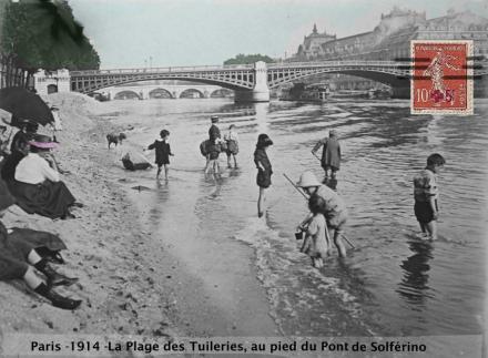 Era uma vez, a praia dos Tuileries!