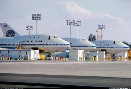 Os primeiros 747 Jumbo da Pan American
