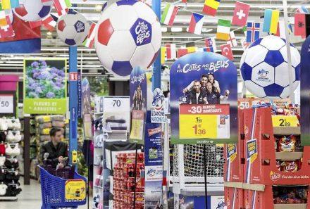 O Euro 2016 invadindo o varejo