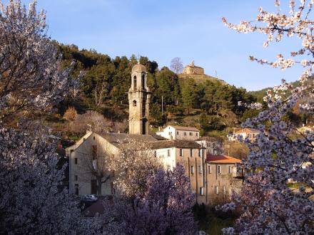 Morosaglia, cidade onde nasceu Pascal Paoli