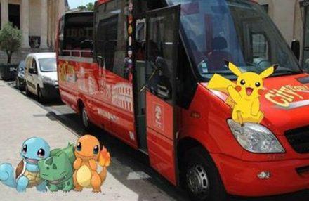 Em Nimes, circuitos turísticos de caça ao Pokémon