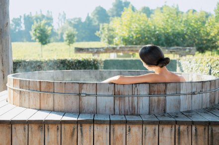 O Spa das Sources de Caudalie, especializado em vinoterapia