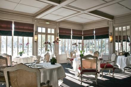 O restaurante La Grand Vigne, duas estrelas nos arredores de Boreaux