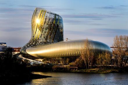 A Cité do vin, umas das novidades que ajudou Bordeaux a sair vencedora