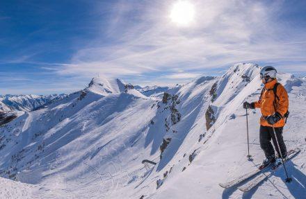 O esqui, um dos sucessos do turismo francês em 2016