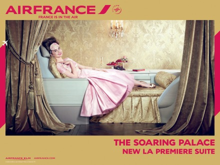 Na Air France, a experiencia do luxo no ar